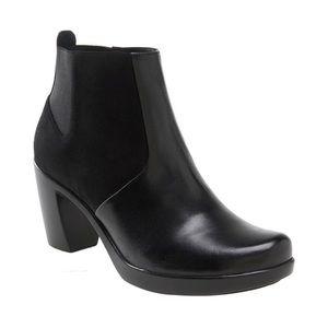 DANSKO Black Tiffany Ankle Boot